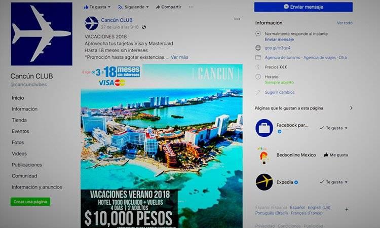 Cancún CLUB cuenta con 158 mil seguidores en Facebook.