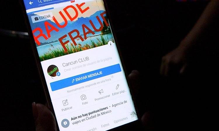 Crean perfil de Facebook para advertir de fraude a turistas.