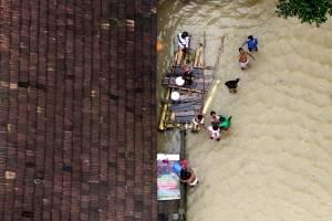 india inundações