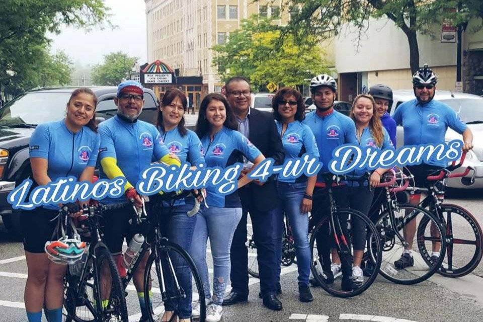 Latinos Biking For Your Dreams