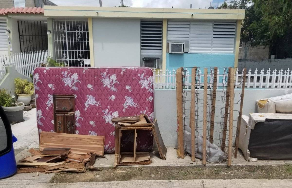 Escombros en Guaynabo