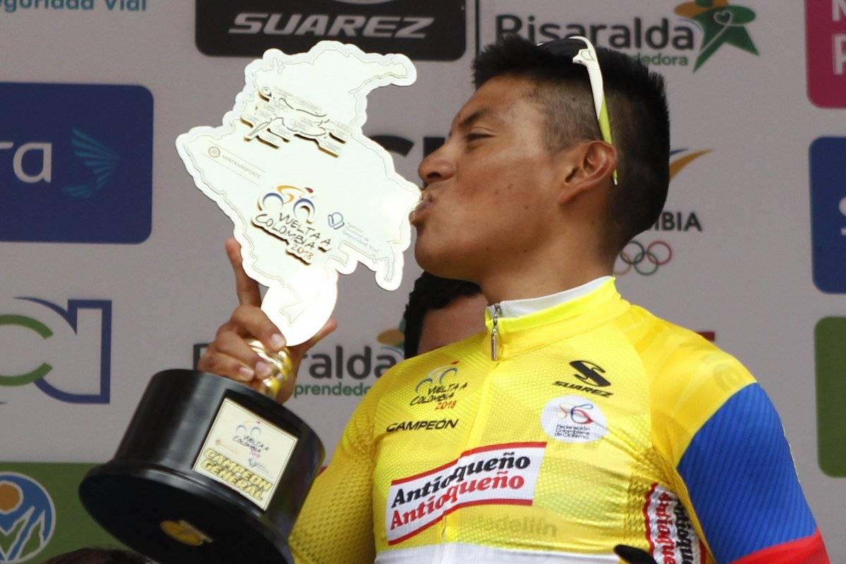 ¡El número 1¡ Jonathan Caicedo primer ecuatoriano en triunfar en la 'Vuelta a Colombia'
