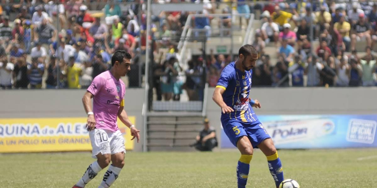 Campeonato Ecuatoriano: Delfín e Independiente del Valle empatan en reñido partido