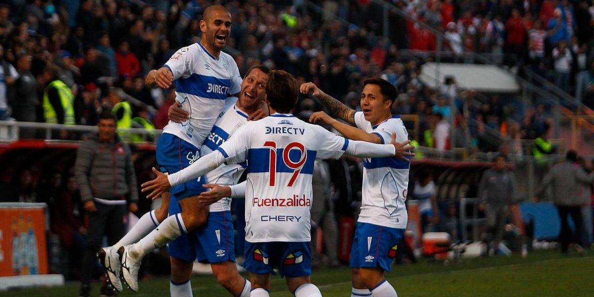 La UC mira a todos para abajo en el Campeonato Nacional gracias a su goleador Sebastián Sáez