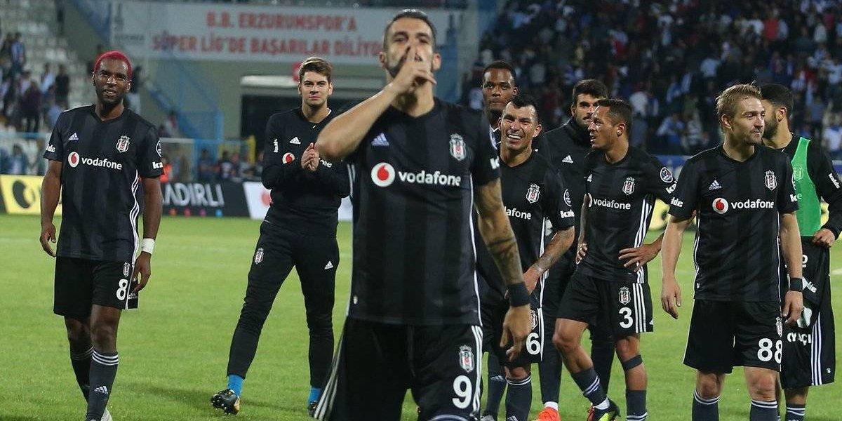 Gary Medel y su Besiktas siguen ganando en Turquía