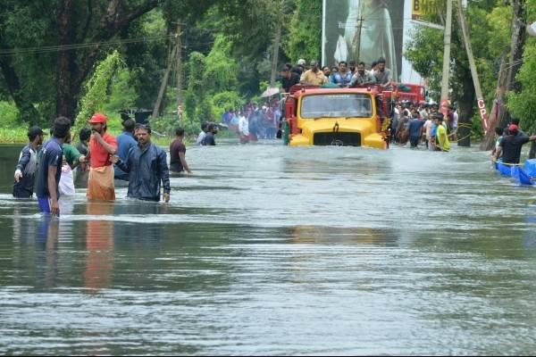 Inundación India Kerala