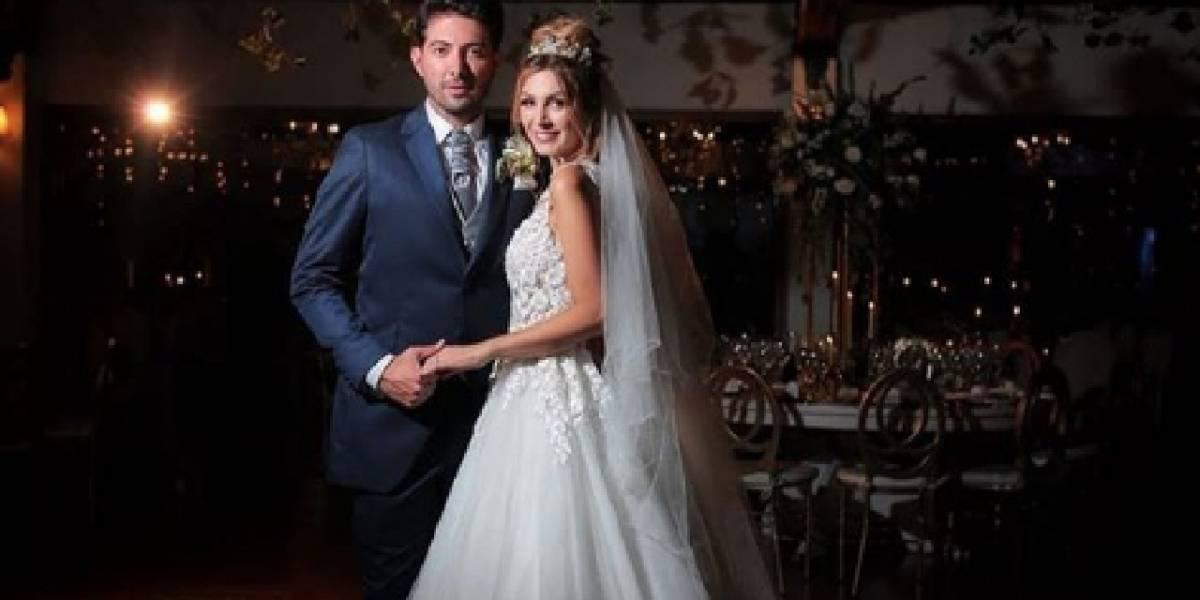 La exorbitante boda de reconocida presentadora de canal nacional