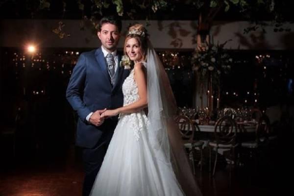Maritza Aristizábal se casó con Diego Moya
