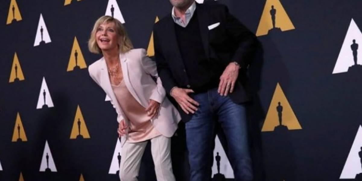 """Bailaron """"You're the One That I Want"""": John Travolta y Olivia Newton-John se reencuentran por los 40 años de """"Grease"""""""