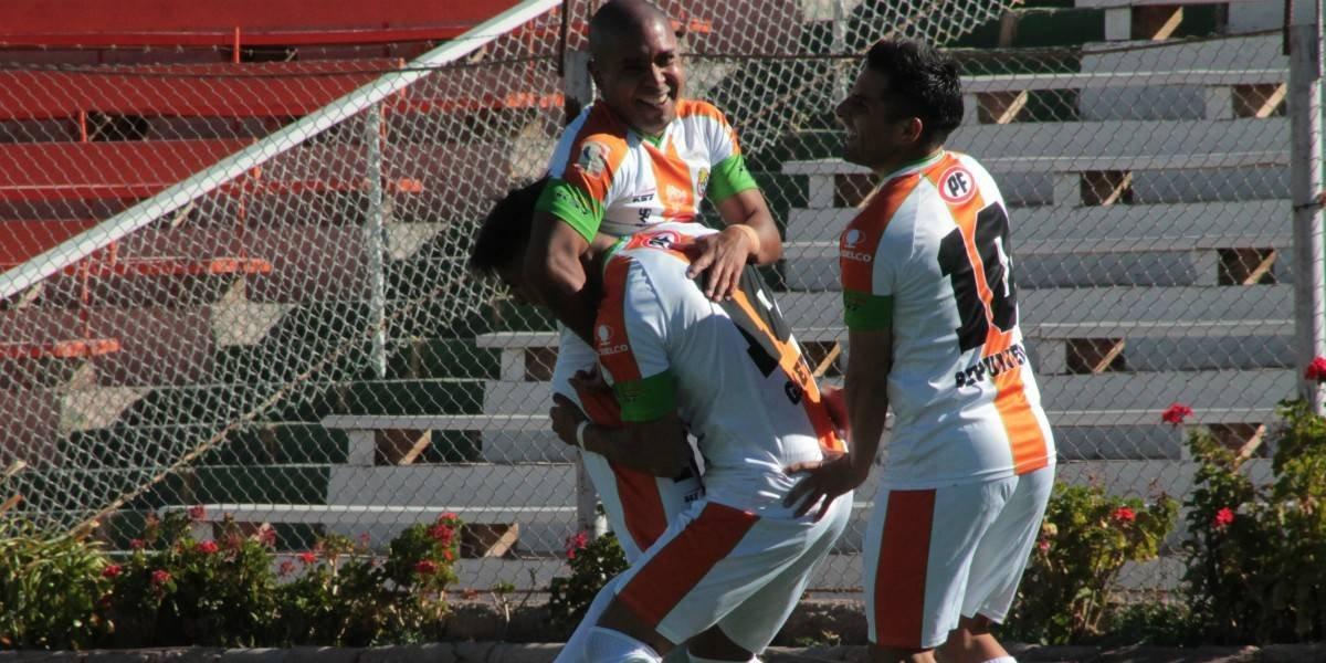 Cobresal goleó a Santiago Morning y se mete en la pelea en la Primera B
