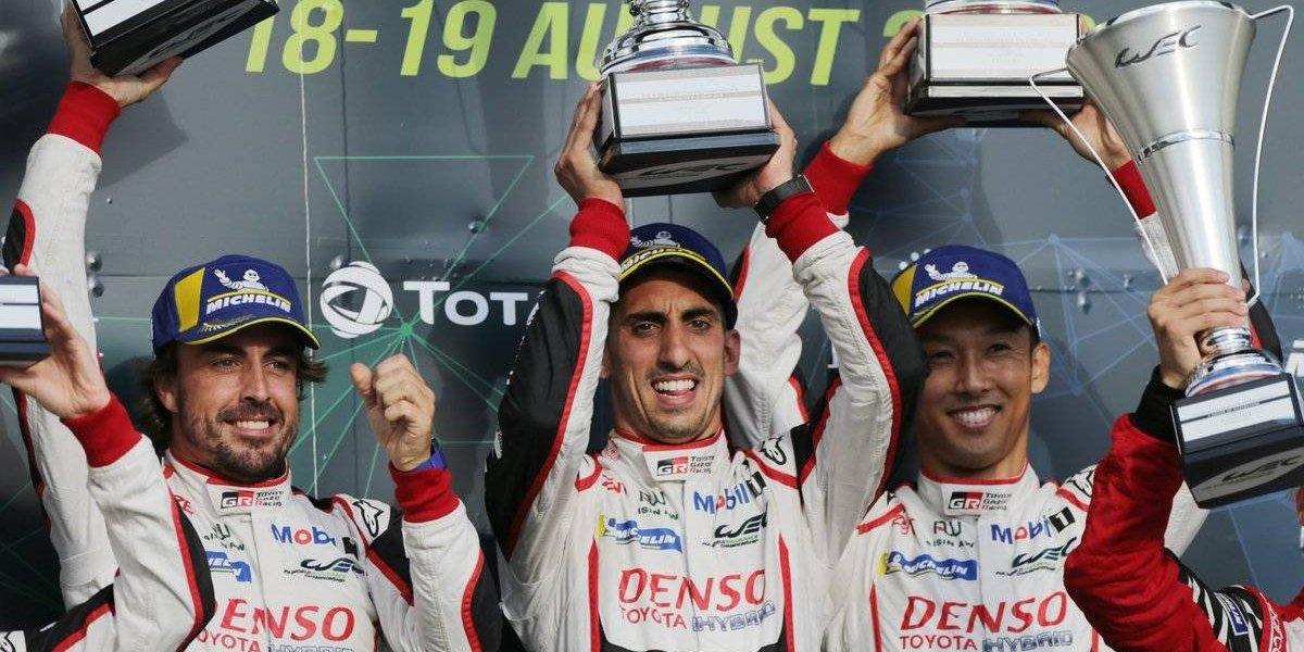 Fernando Alonso gana las Seis Horas de Silverstone