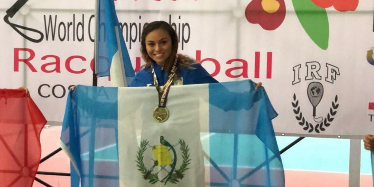 Medios internacionales hablan de la campeona guatemalteca Gaby Martínez