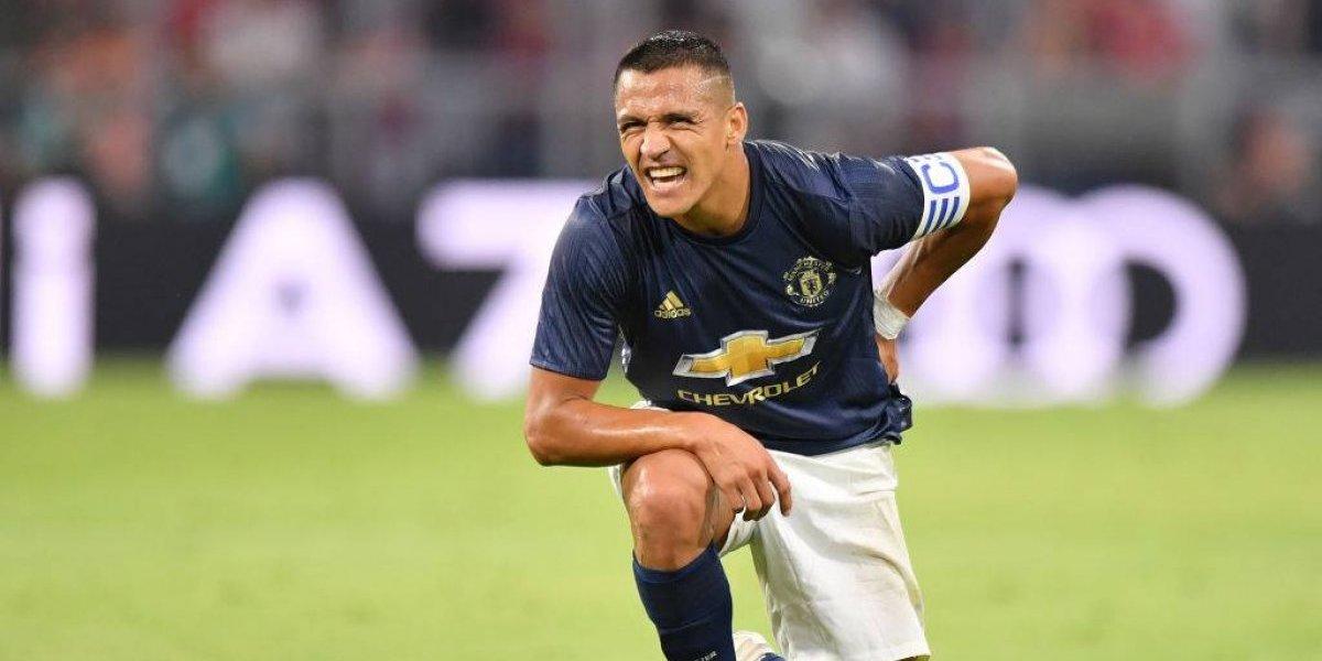 """José Mourinho confirma la peor noticia para Alexis: """"Deberá estar dos semanas fuera como máximo"""""""