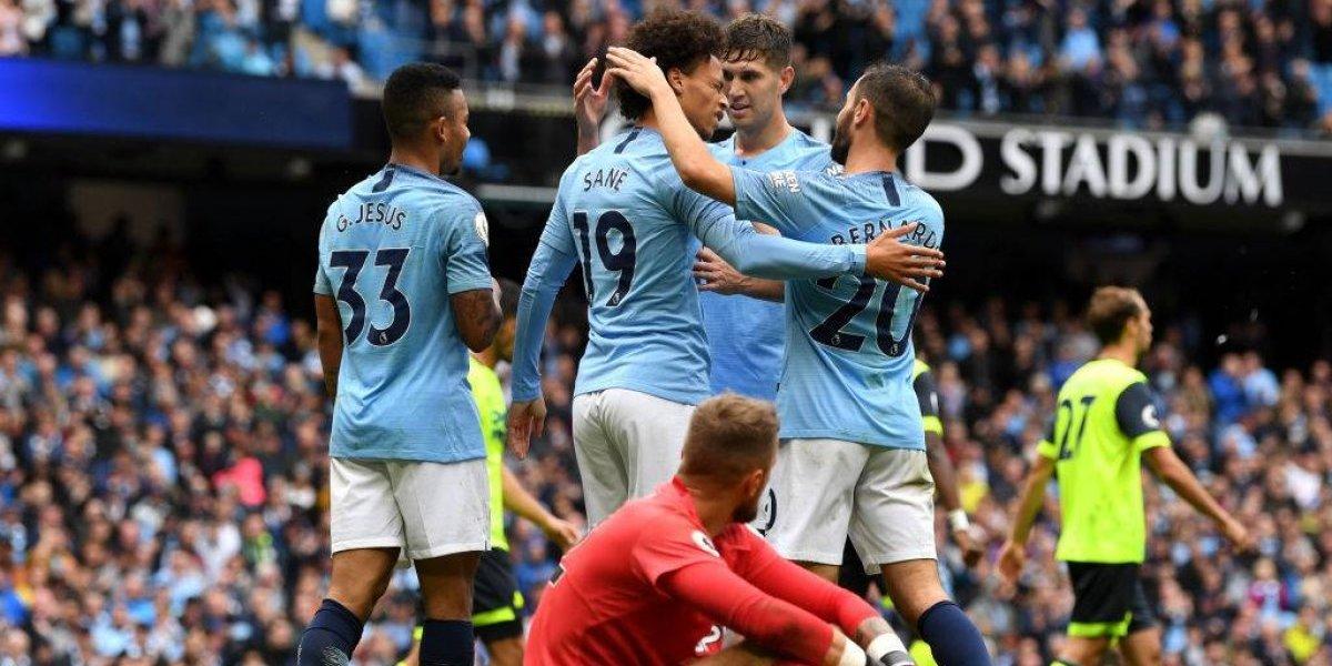 Manchester City dio otra cátedra de fútbol en la Premier con Bravo en la banca