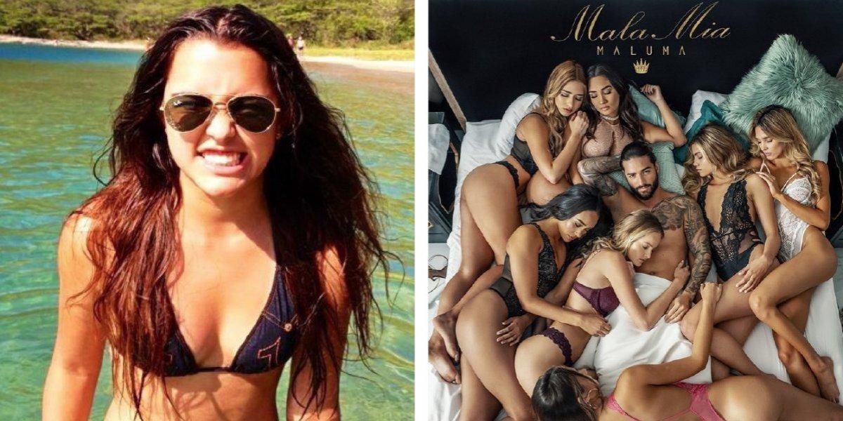 Hija de Carlos Vives regaña a Maluma por la letra y el video de su nuevo sencillo