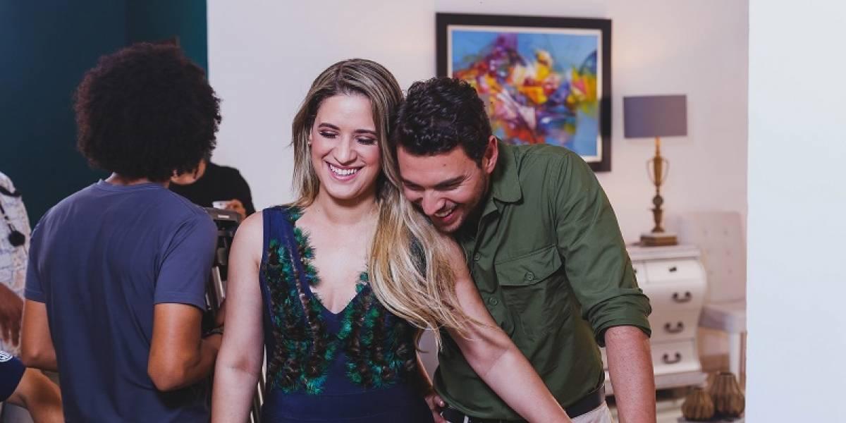 """Nathalie Hazim graba video canción """"No me daba cuenta"""""""