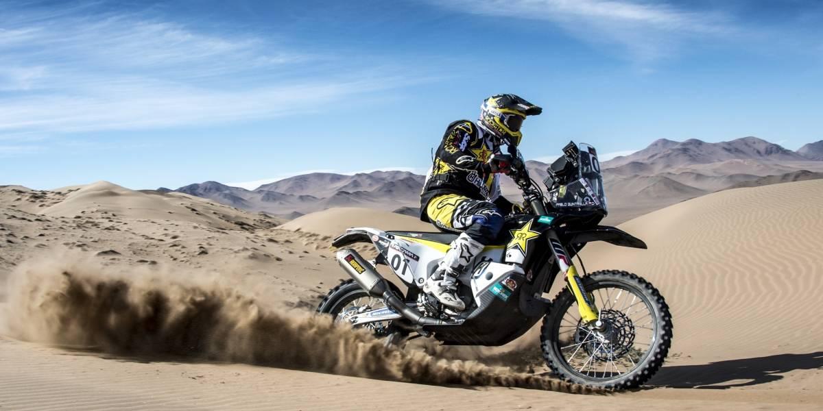 Pablo Quintanilla no pudo revalidar el título del Atacama Rally que ganó el argentino Benavides