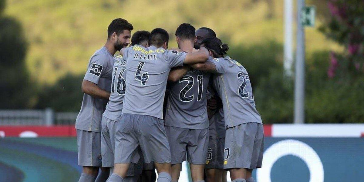 Con mexicanos en la cancha, Porto consigue victoria ante el Belenenses