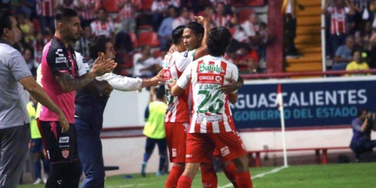 Necaxa se recupera en el marcador y empata con Puebla