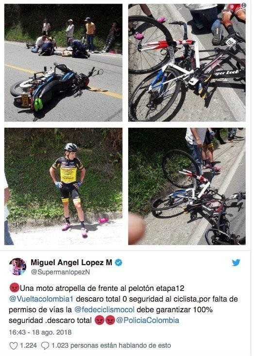 Twiter Miguel lopez