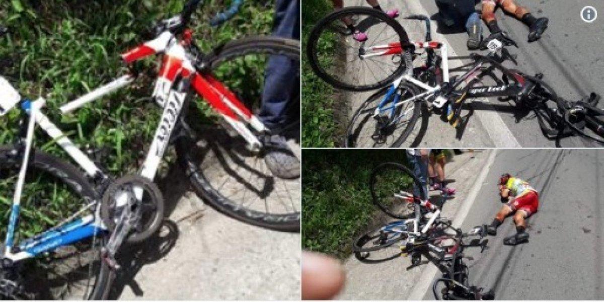 Fatal accidente en la 'Vuelta a Colombia'