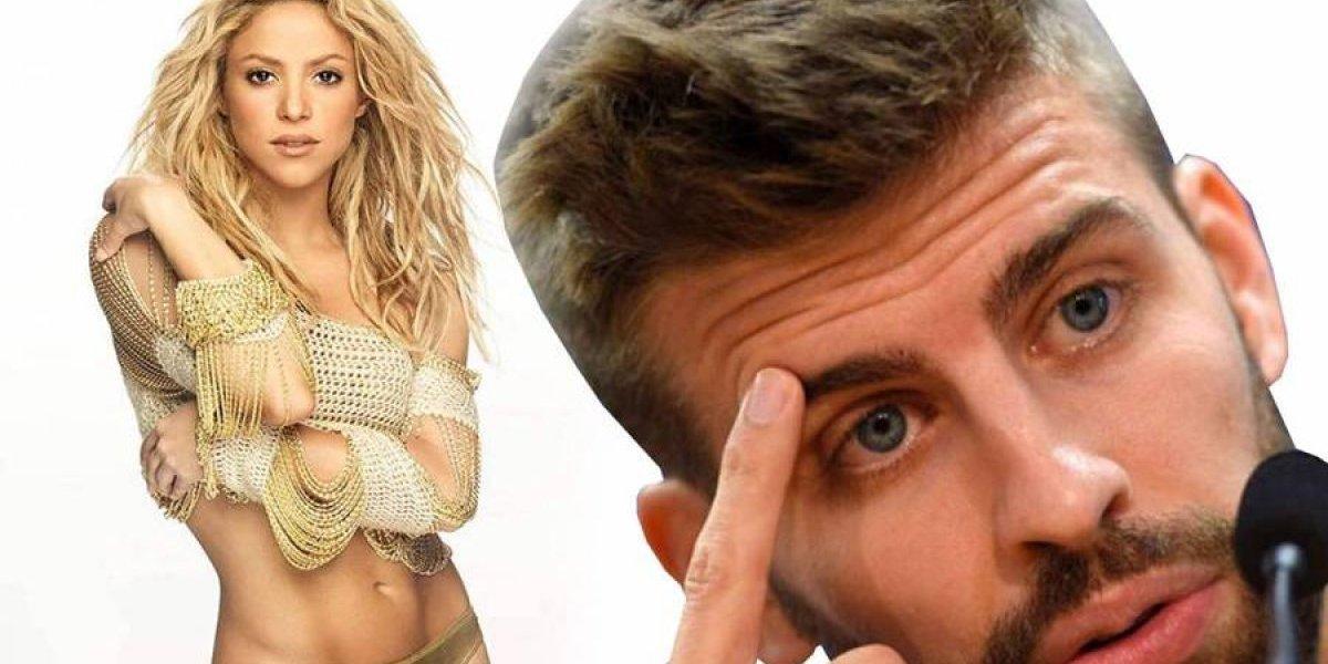 La foto provocadoras de Shakira que desató la ira de Piqué
