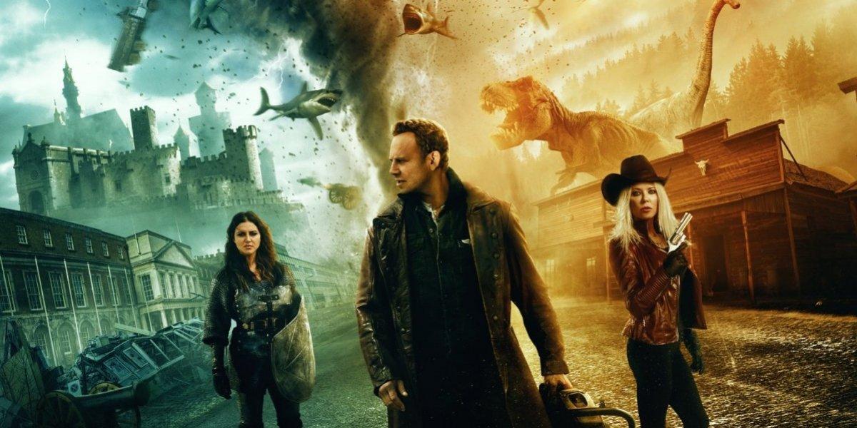 """Ian Ziering y Tara Reid se despiden de los tiburones asesinos con """"Sharknado 6"""""""