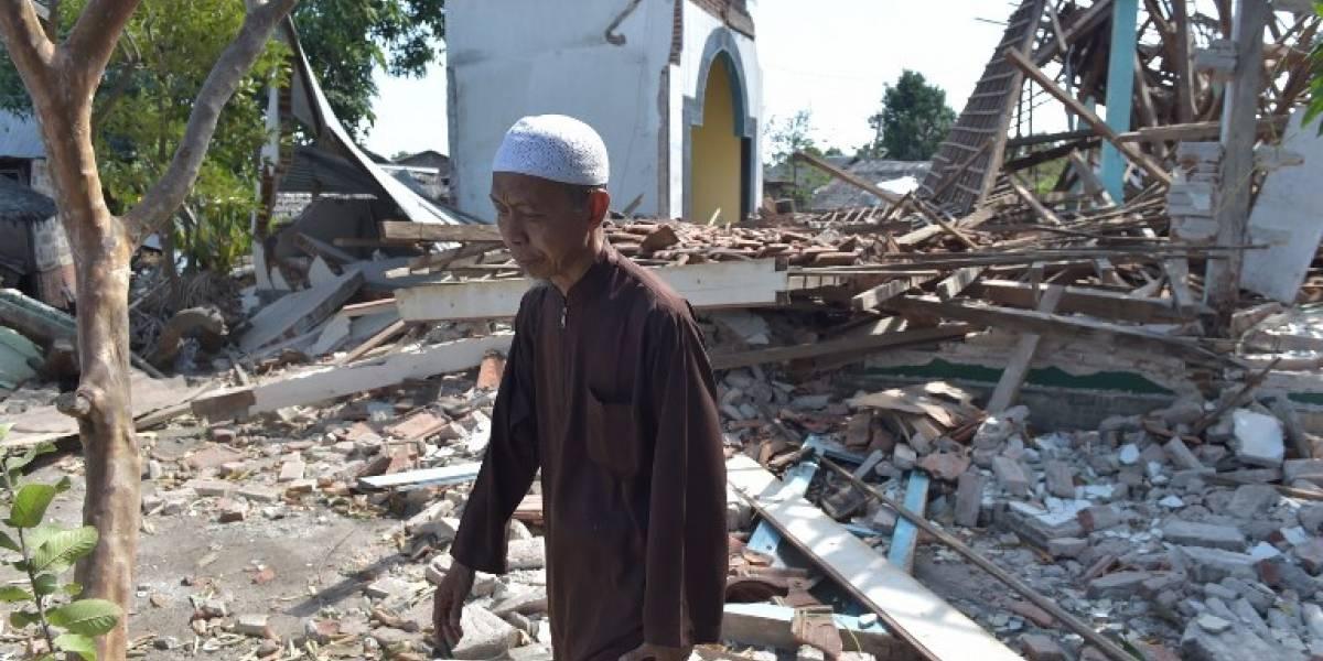 Nuevo sismo sacude la isla indonesia de Lombok