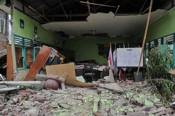 Diez muertos tras sismo en isla indonesia de Lombok Getty Images