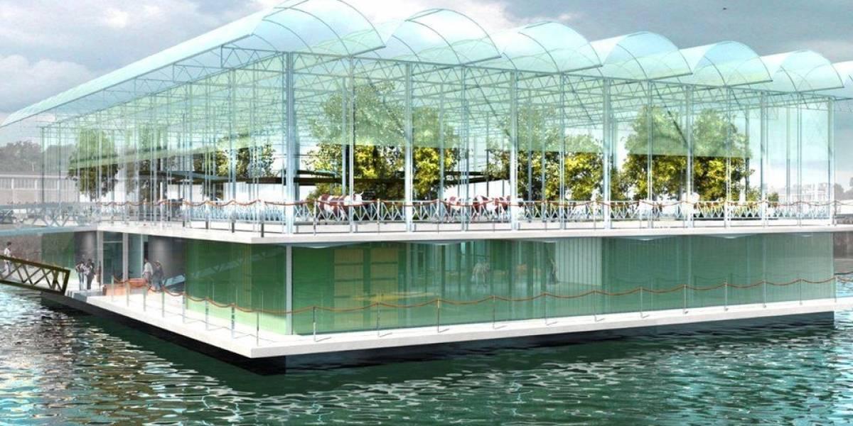 Cómo es la primera granja flotante del mundo