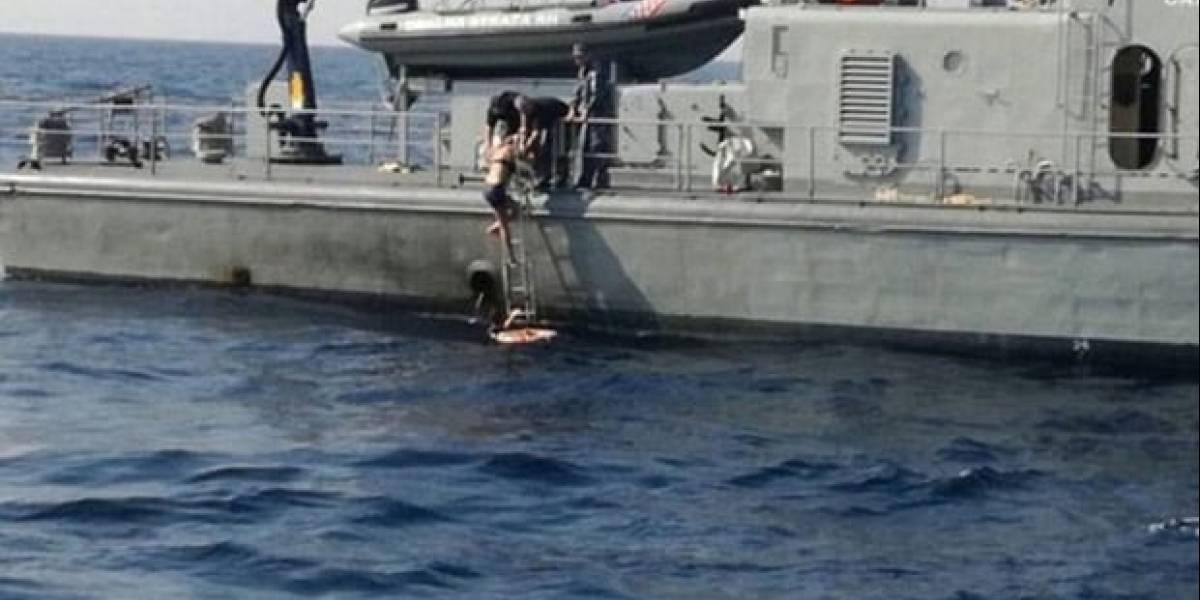 Cantar la salvó: Una mujer británica sobrevive 10 horas nadando tras caer de un crucero