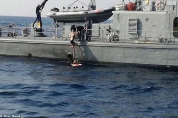 Kay Longstaff fue localizada por guardacostas croatas a 1,3 kilómetros del lugar en el que se cayó del barco