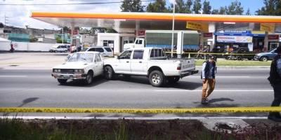 ataque armado contra conductor de vehículo en calzada Roosevelt