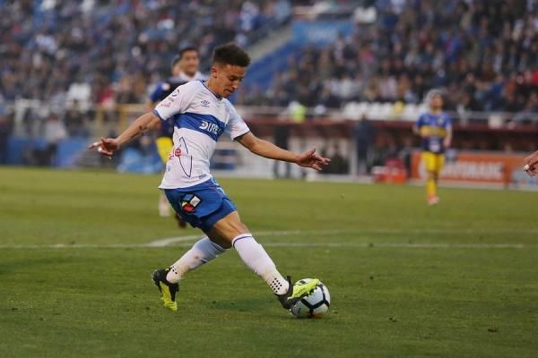 Diego Buonanotte superó un desgarro y puede volver a jugar en la UC / Foto: Agencia UNO