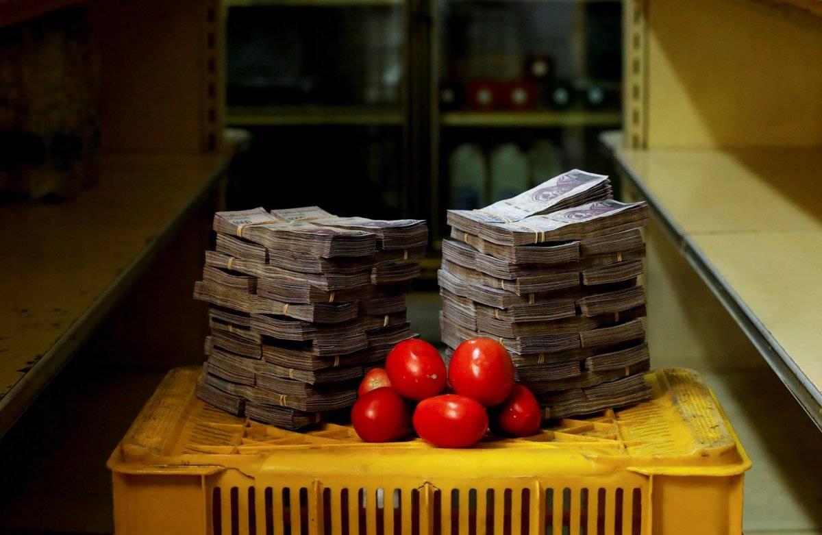 1 kilo de tomates = 0,76 dólares REUTERS