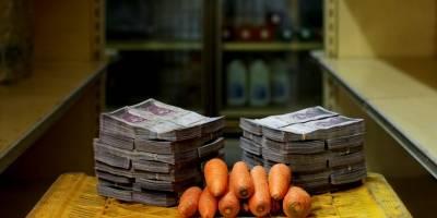 Un kilo de zanahorias = 0,46 dólares