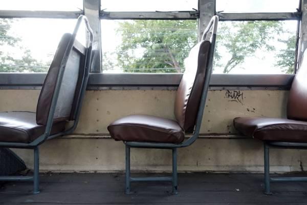 Interior de bus urbano