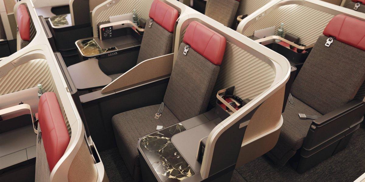 Lo que se va a gastar Latam en renovar las cabinas de sus aviones