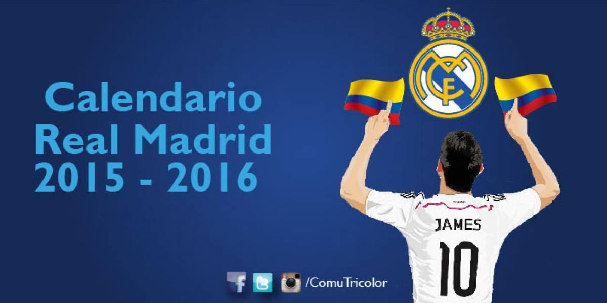 Calendario Real Madrid.Descarga Calendario Fixture Del Real Madrid Para La Liga Bbva