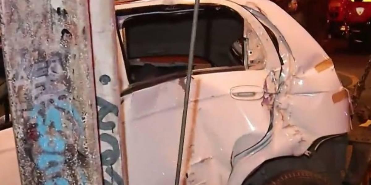 Conductor en estado de ebriedad arrolla a cuatro personas en paradero de La Pintana: auto tenía encargo por robo