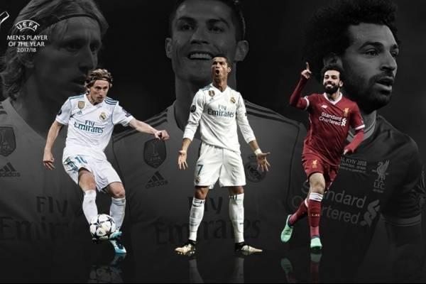 Nominados a mejor jugador del año de la UEFA
