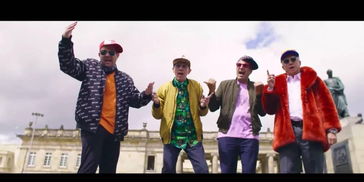¡Al fin! Publican el video de senadores cantando reguetón