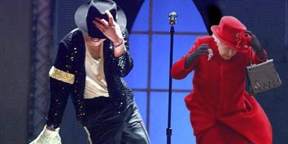 ¿La Reina Isabel bailando con Michael Jackson?: revisa el nuevo y popular meme que se toma internet