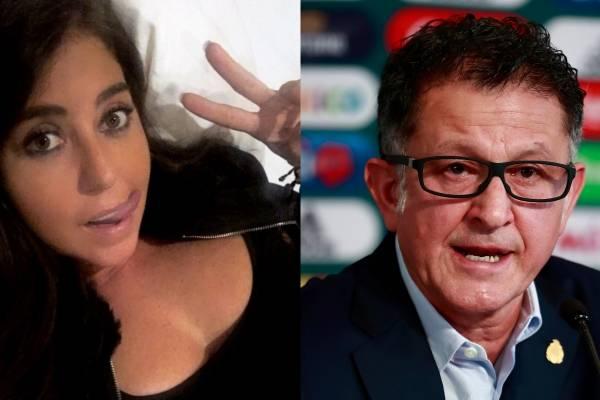 Periodista mexicana aclaró su supuesta relación con Juan Carlos Osorio
