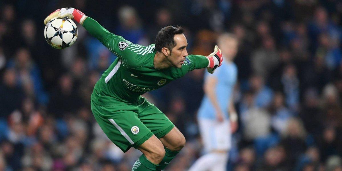 Claudio Bravo es baja del Manchester City por lesión