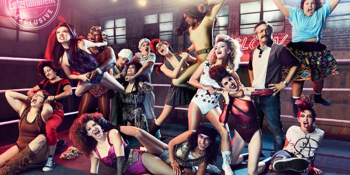 "Las ""Gorgeous Ladies of Wrestling"" de Glow confirmaron tercera temporada"