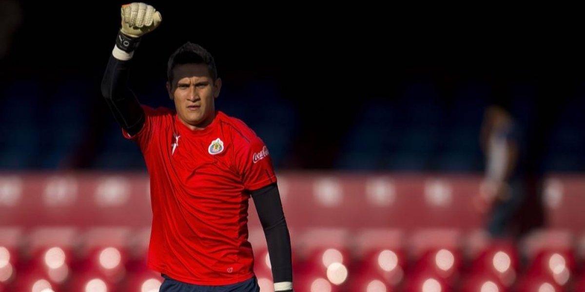 Raúl Gudiño quiere salir adelante con Chivas