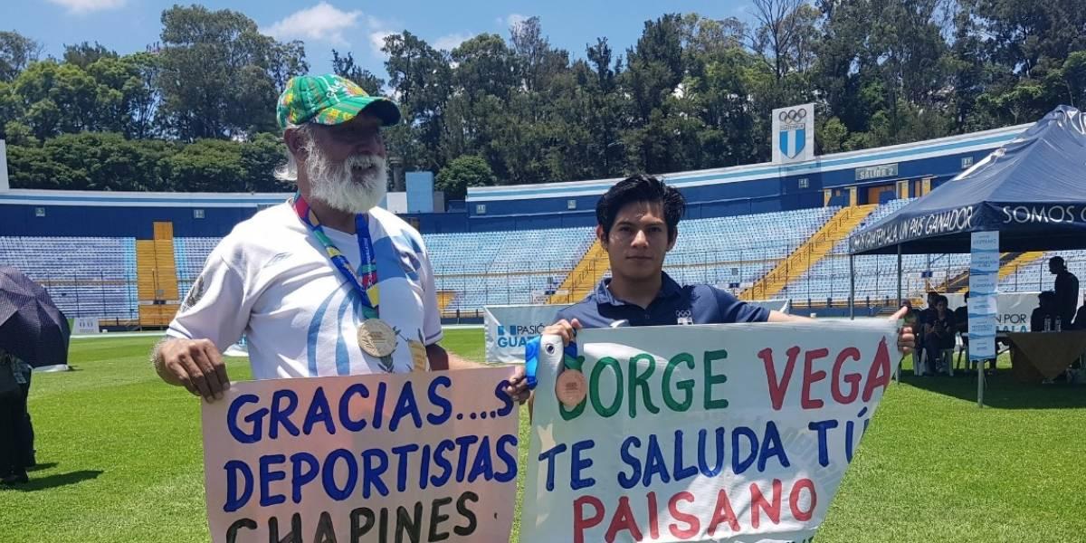 Jorge Vega agradece apoyo de guatemaltecos con emotivo mensaje