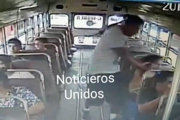 Asalto en bus de Escuintla