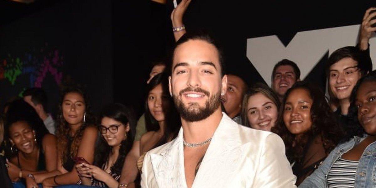 Maluma luce un atuendo al estilo Juan Gabriel en los MTV VMAs 2018